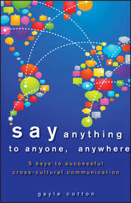 Say Anything to Anyone, Anywhere. 5 Keys To Successful Cross-Cultural Communication