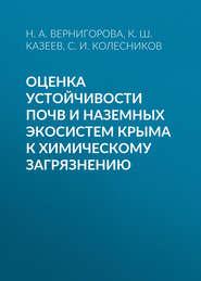 Оценка устойчивости почв и наземных экосистем Крыма к химическому загрязнению